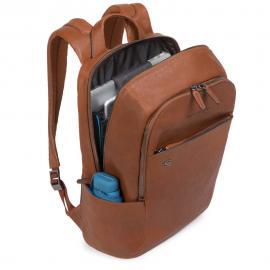 """Piquadro Zaino Porta Pc/ipad®10,5""""/9,7"""" Con Connequ Testa Di Moro CA3214B3"""