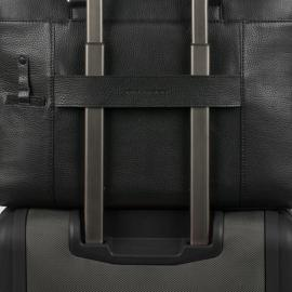 Piquadro Cartella Porta Computer A Due Manici Nero CA3339MO