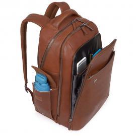 Piquadro Zaino Porta Pc E Porta Ipad®Air/pro 9,7 Con Placca Usb E Micro-Usb E Connequ Collezione Bagmotic Blu Notte