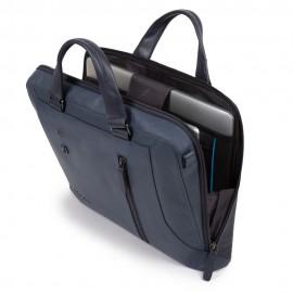 Piquadro Cartella Sottile Porta Computer E Porta Ipad® Blu Oltremare CA4098S104/BLU