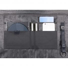 Piquadro Cartella Porta Computer A Due Chiusure Con Patta E Scomparto Porta Ipad®Air/pro 9,7 Pulse Blu Notte