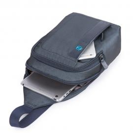 Piquadro Monospalla Porta Ipad®Mini Chevron/nero CA4177P16