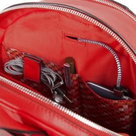 Piquadro Zainetto Porta Ipad®Air/pro 9,7 Muse Rosso Scarlatto