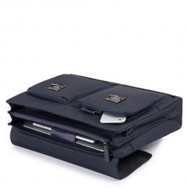 """Piquadro Cartella Porta Computer E Porta Ipad®10,5''/9,7"""" Testa Di Moro CA4473S100"""