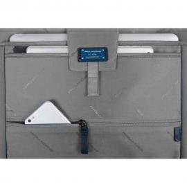 """Piquadro Cartella Porta Computer E Porta Ipad®10,5''/9,7"""" Nero CA4484W89"""