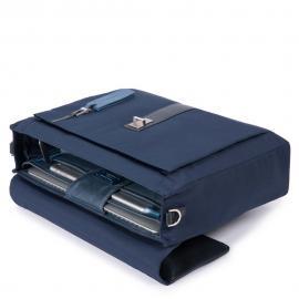 """Piquadro Cartella Porta Computer E Porta Ipad®10,5''/9,7"""" Blu Notte CA4506W90"""