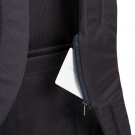 Piquadro Zaino Porta Pc/ipad®Air/pro 9,7 Con Tasca Portabottiglia O Portaombrello, Connequ E Anti-Frode Rfid Brief Testa Di Moro