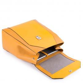Piquadro Zainetto Espandibile Porta Ipad®10,5''/ipad 9,7 Giallo Zafferano CA4630MUS