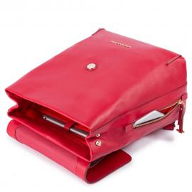 Piquadro Zainetto Donna Espandibile Rosso Vermiglio CA4706S102