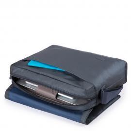 """Piquadro Messenger Porta Computer E Porta Ipad®10,5"""" Chevron/nero CA4744P16"""