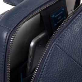 Piquadro Zaino Grande Porta Computer E Ipad® Con Tasca Nero CA4762MOS/N