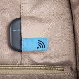 Piquadro Zaino Porta Pc E Porta Ipad® Con Cavo Antifurto, P Nero CA4782W96BM/N