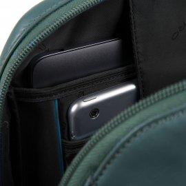 Zaino Porta Computer E Porta Ipad Blu Oltremare Piquadro CA4923S106/BLU