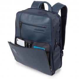 Zaino Sottile Espandibile Personalizzabile Porta Nero Piquadro CA5102AO/N