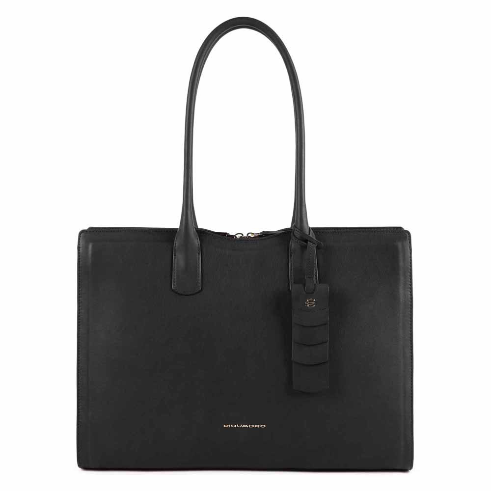 Piquadro Shopping Bag Grande Porta Computer Nero CA5130W102/N
