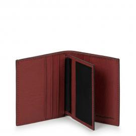 Piquadro Porta Carte Di Credito Rosso Mattone PP1518B3R