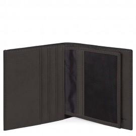 Piquadro Porta Carte Di Credito Testa Di Moro PP1518B3R