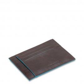 Porta Carte Di Credito In Pelle Piquadro Mogano PP2762B2R/MO