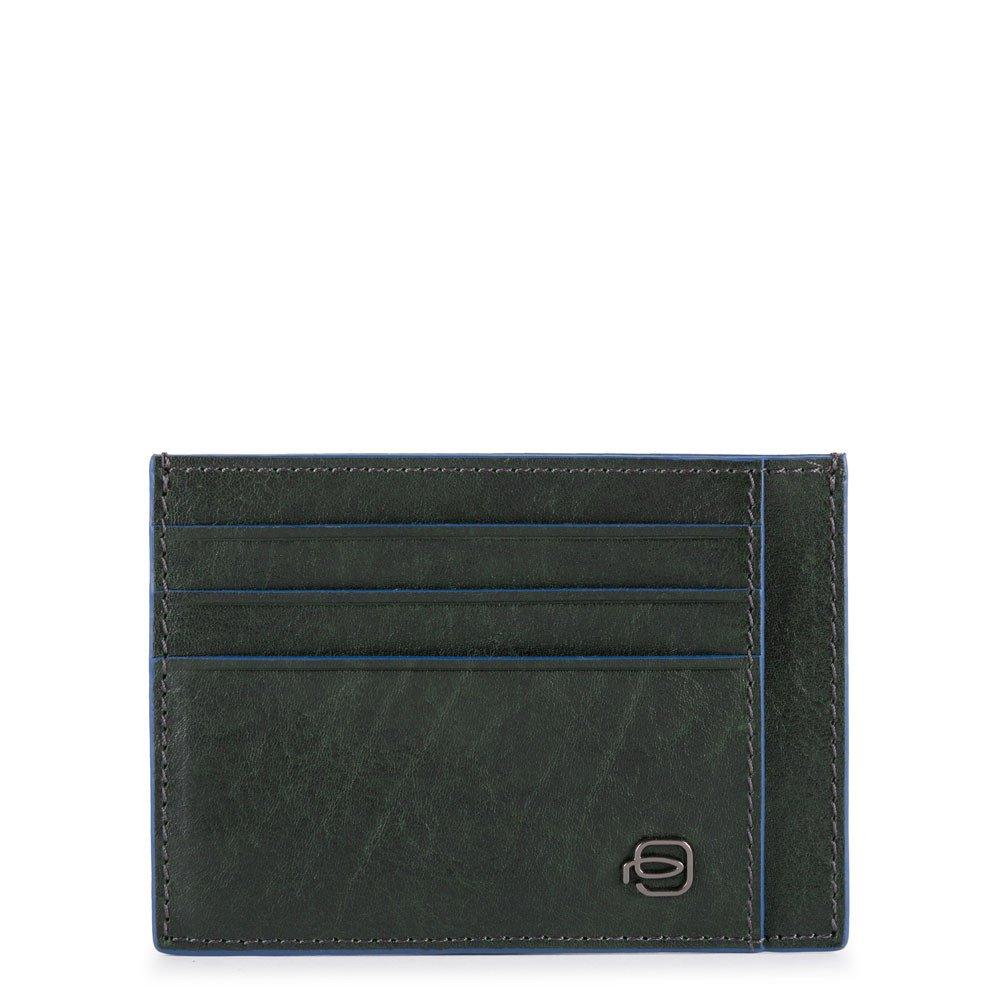 Piquadro Porta Carte Di Credito In Pelle Verde PP2762B2S/VE
