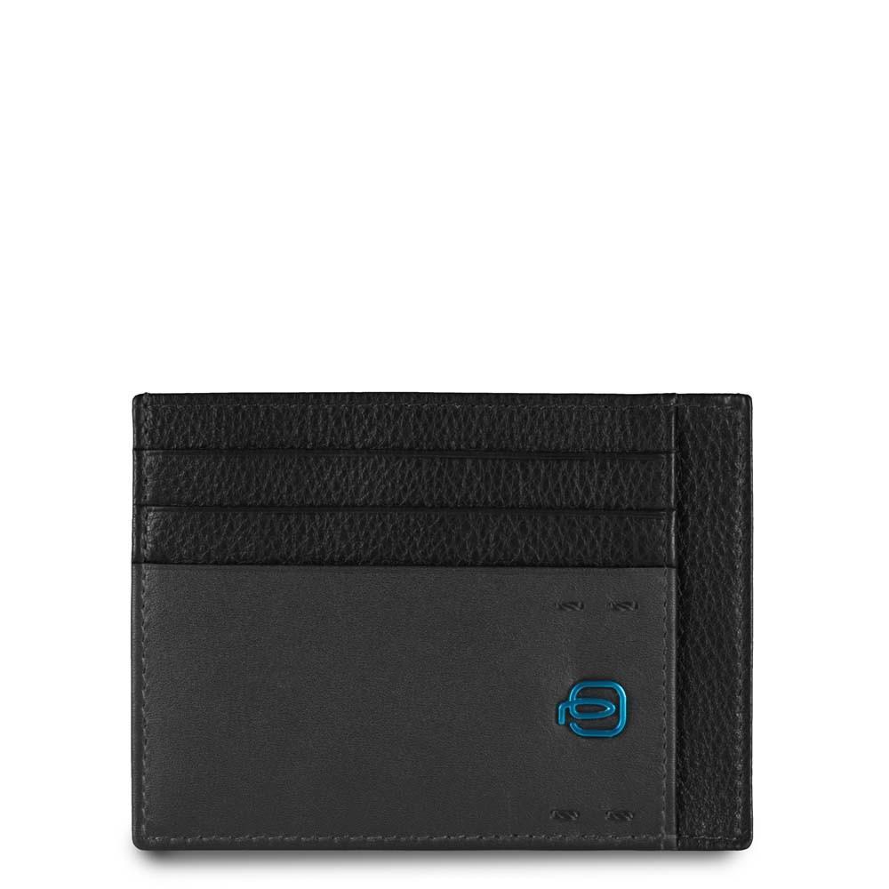 Piquadro Bustina Porta Carte Di Credito Tascabile Nero PP2762P15