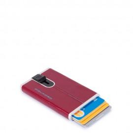 Piquadro Porta Carte Di Credito Con Sliding System Rosso PP4825B2R/R