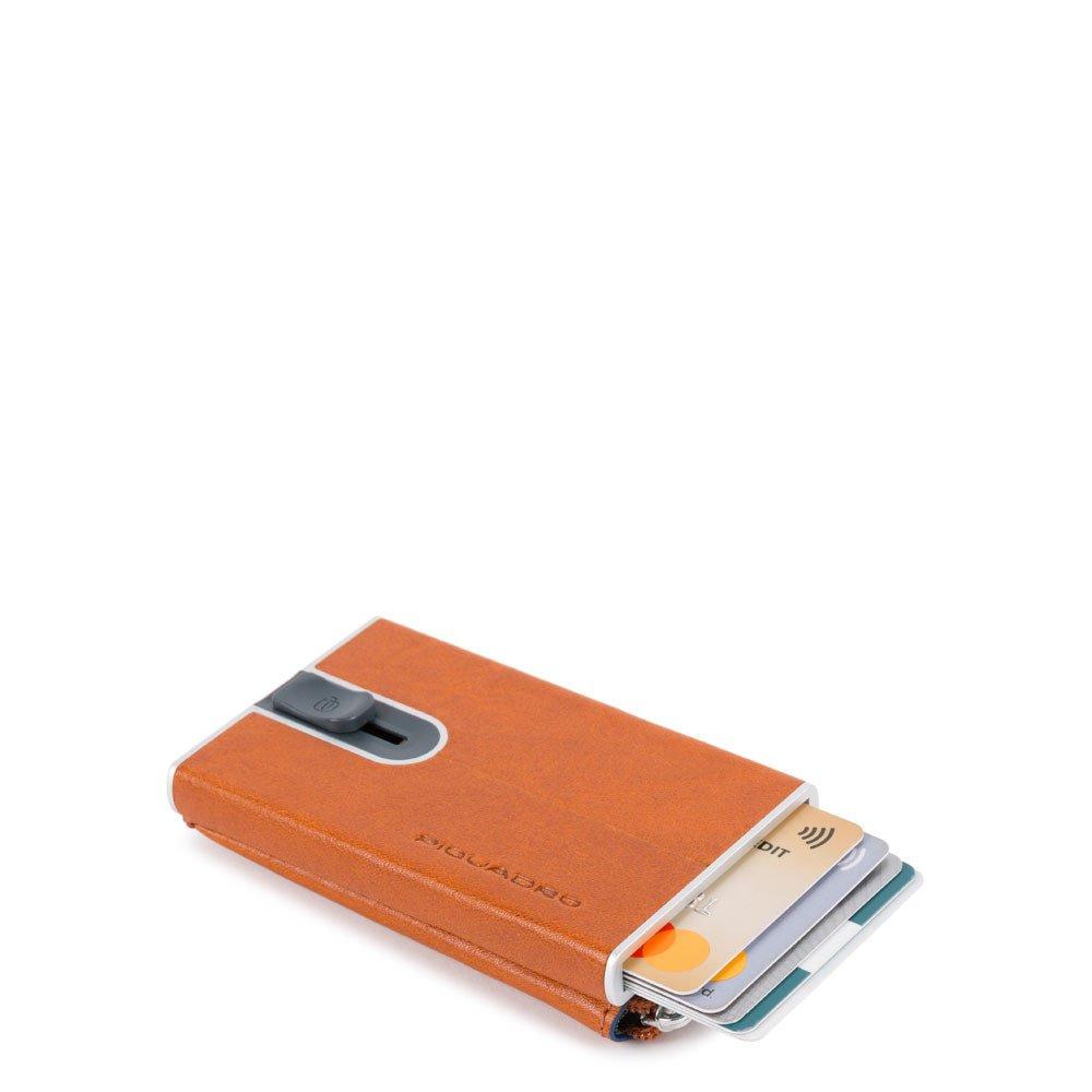 Piquadro Compact Wallet Per Carte Di Credito Con Sliding Sy Arancio PP5359B2SR/AR