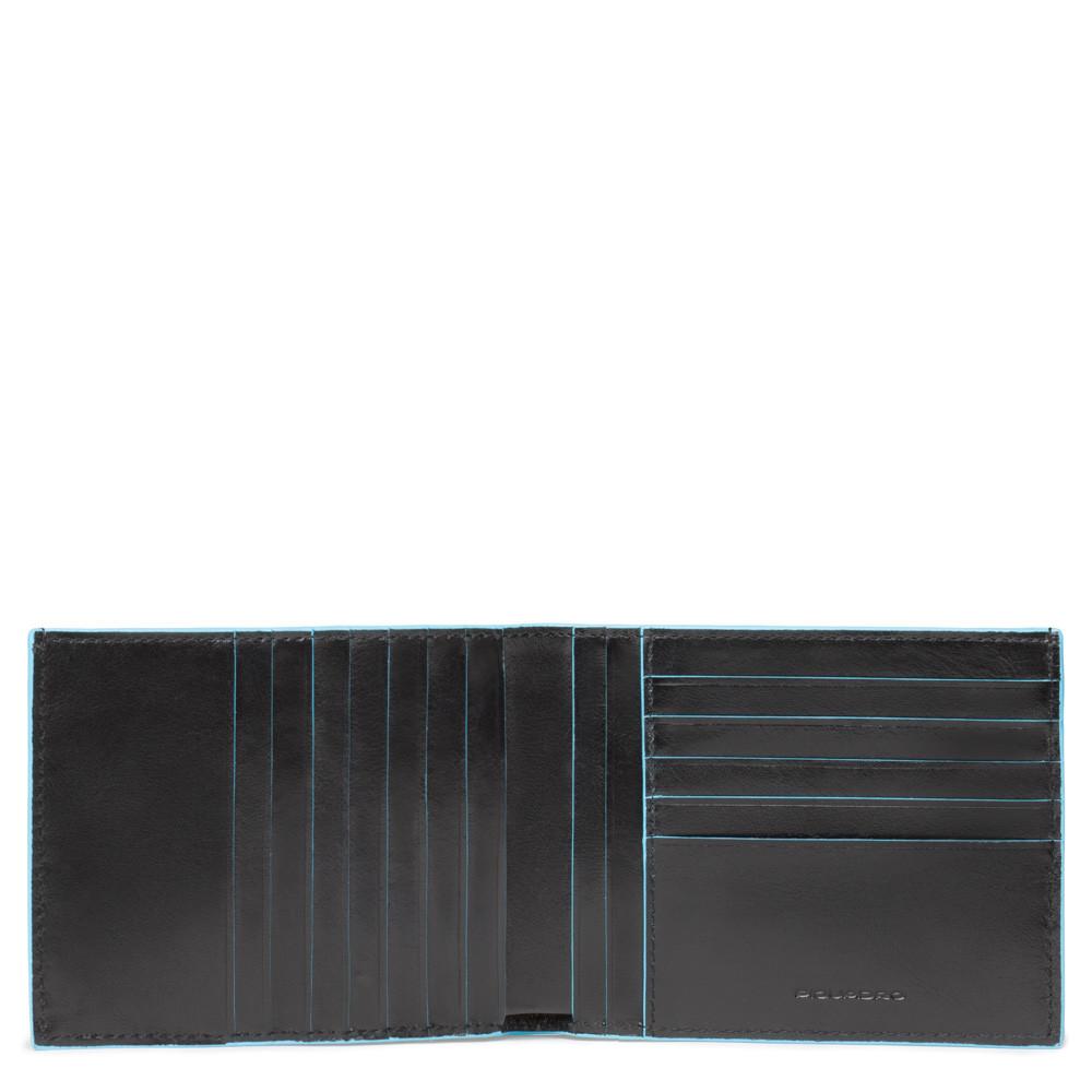 Portafoglio Uomo Con 12 Porta Carte Di Credito Piquadro Nero PU1241B2R/N
