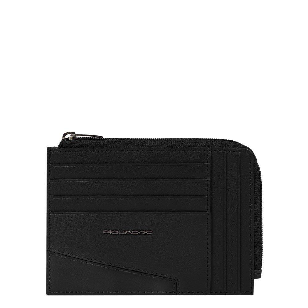 Piquadro Bustina Portamonete, Documenti E Carte Nero PU1243S104R/N