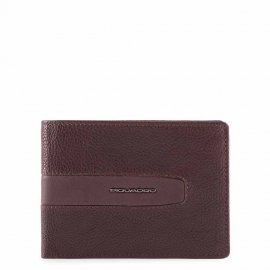 Men'S Wallet In Recycled Fabric Melanzana Piquadro PU4188W101R/M