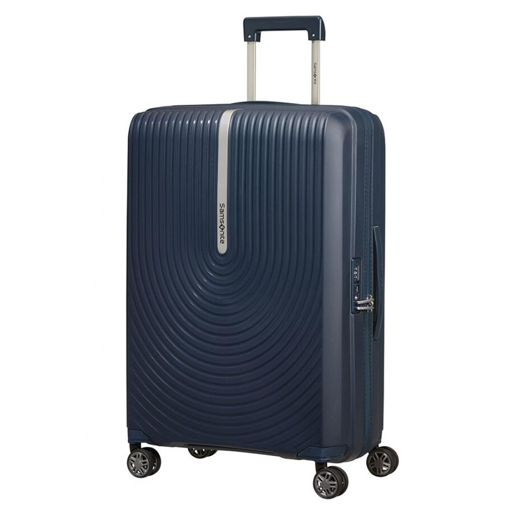 Samsonite Hi-Fi Trolley MEDIO Espandibile (4 Ruote) 68Cm Dark Blue 132801-1247 KD801002