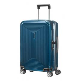 Samsonite Neopulse Spinner (4 Ruote) 55Cm Metallic Blue 65752-1541 44D01001