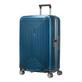 Samsonite Neopulse Spinner (4 Ruote) 69Cm Metallic Blue 65753-1541 44D01002