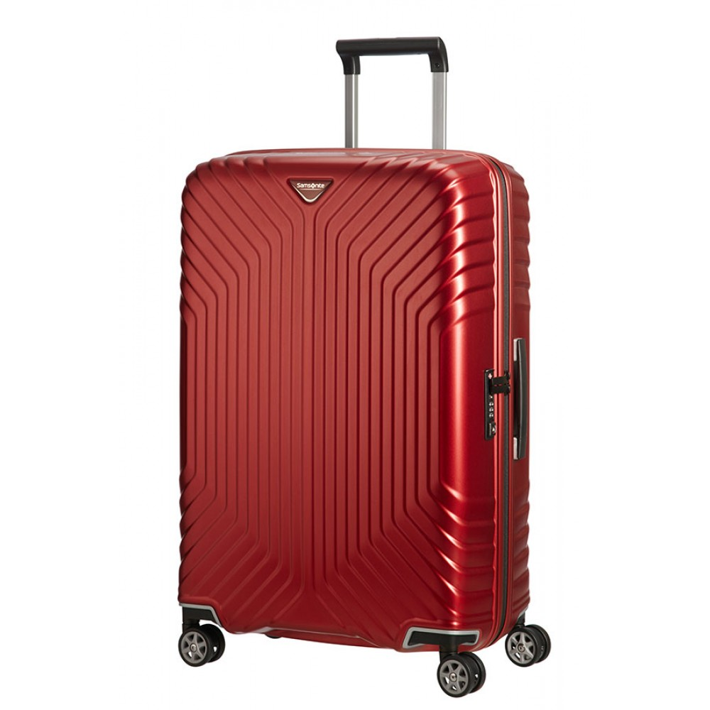 Samsonite Tunes Trolley (4 Ruote) 69Cm medio Matte Deep Red 75232-5347 05N00002