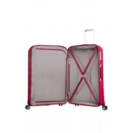 Samsonite Flux Spinner Espandibile (4 Ruote) 68Cm Granita Red