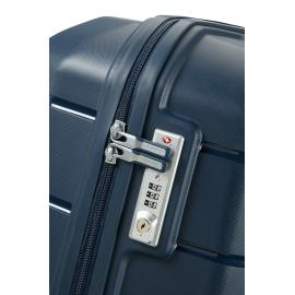 Samsonite Flux Spinner Espandibile (4 Ruote) 81Cm Navy Blue