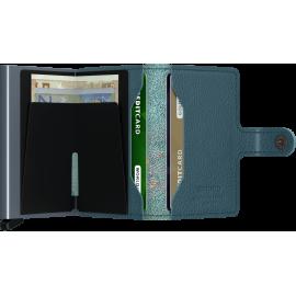 Secrid Miniwallet Stitch Magnolia Petrolio MST-MAGNOLIAPETROLIO