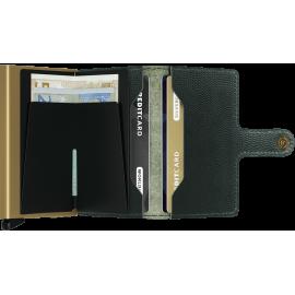 Secrid Miniwallet Rango Green-Gold