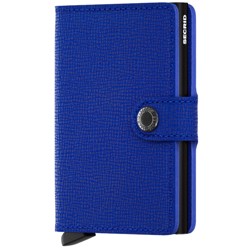 Secrid Miniwallet Crisple Blue-Black MC-BLUE-BLACK