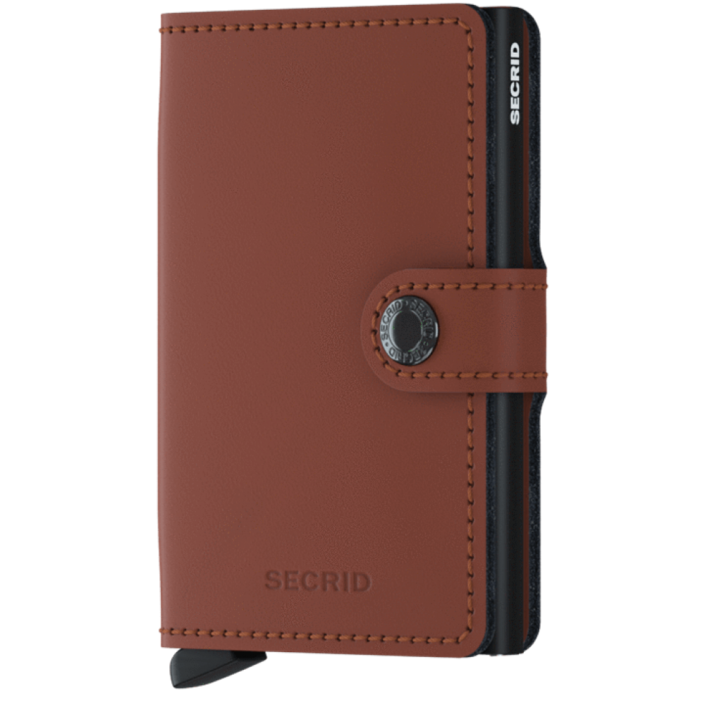 Secrid Miniwallet Matte Brick-Black MM-BRICK-BLACK