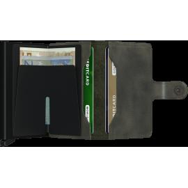 Secrid Miniwallet Vintage Olive-Black MV-OLIVE-BLACK