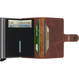 Secrid Miniwallet Vintage Brown MV-BROWN