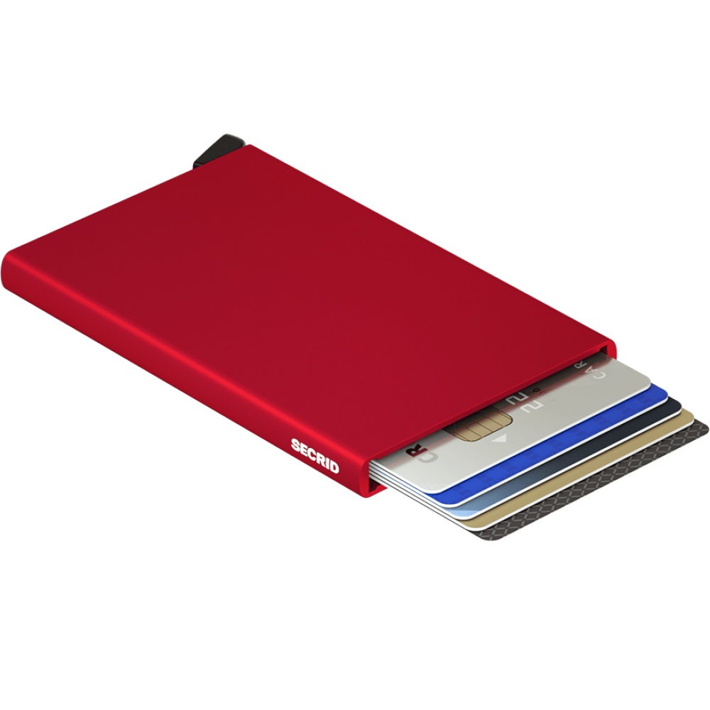 Secrid, cardprotector red C-RED