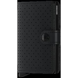 Secrid Miniwallet Perforated Black MPF-BLACK