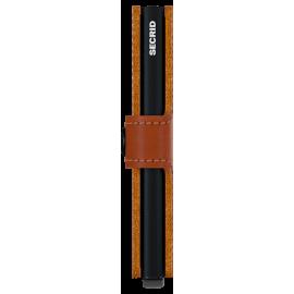 Secrid, miniwallet perforated cognac MPF-COGNAC