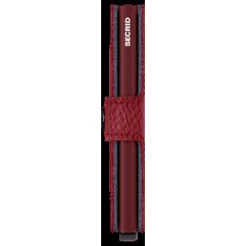 Secrid Miniwallet Veg Rosso MVG-ROSSO