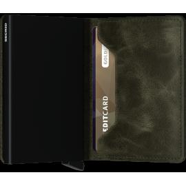 Secrid Slimwallet Vintage Olive-Black SV-OLIVE-BLACK