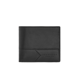 The Bridge Men's Wallet Black / Ruthenium 0145098A