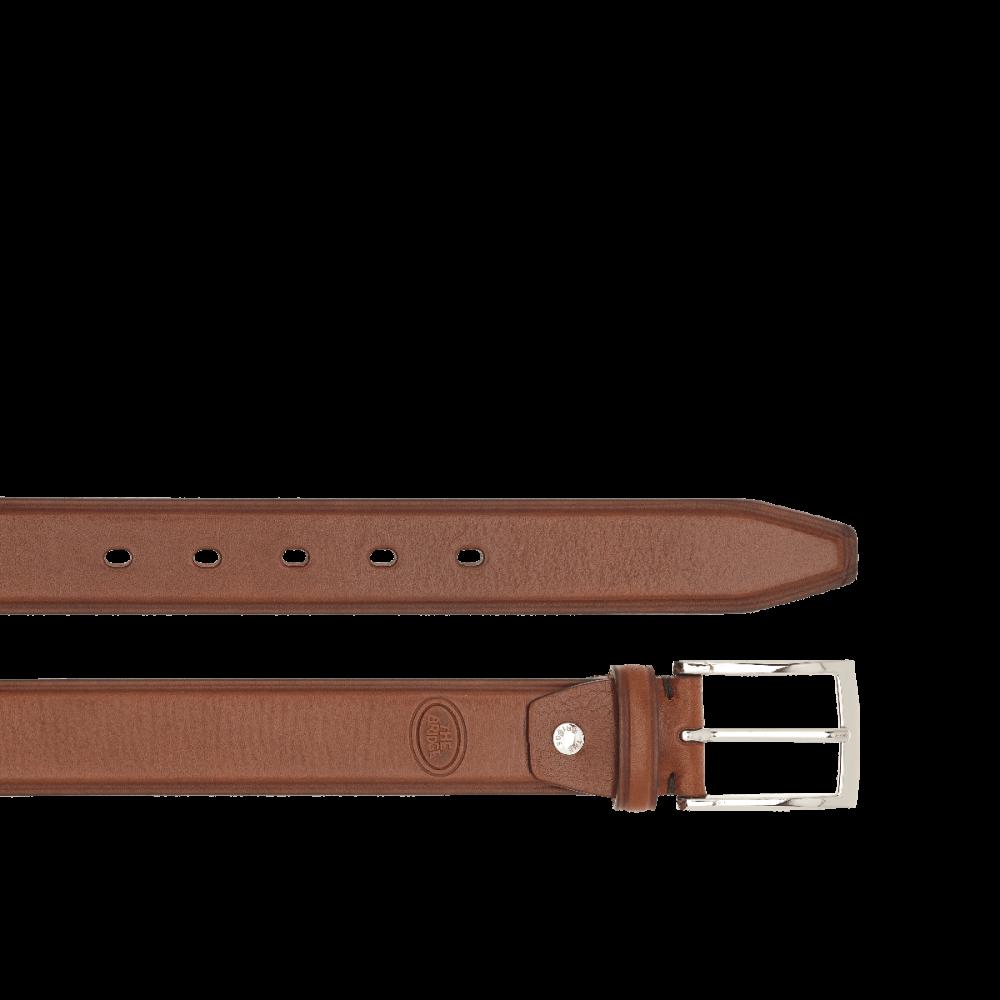 The Bridge, men's belt marrone/palladionero/palladio/rutenio 03371001.690-110