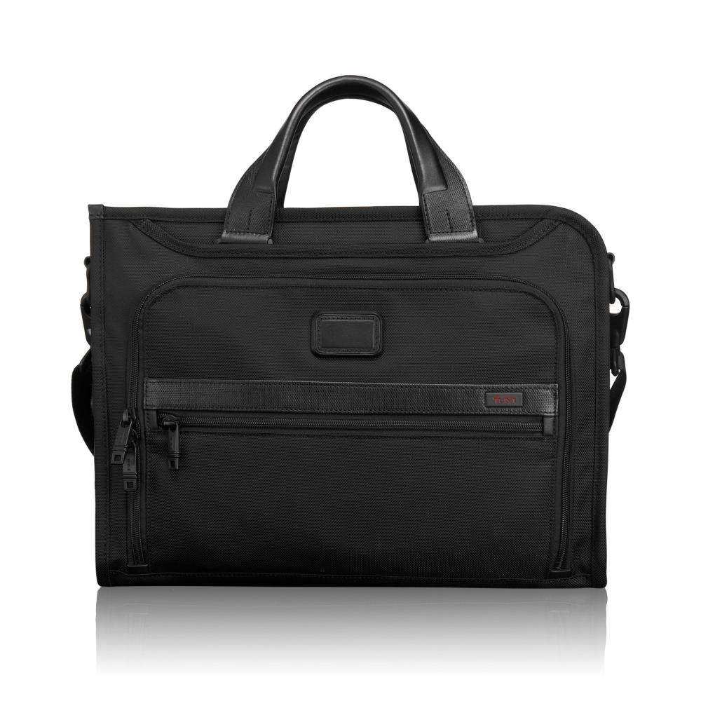 Tumi Porte-Documents Mince De Luxe Noir