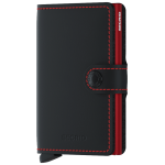 Secrid, miniwallet matte black & red MM-BLACK&RED